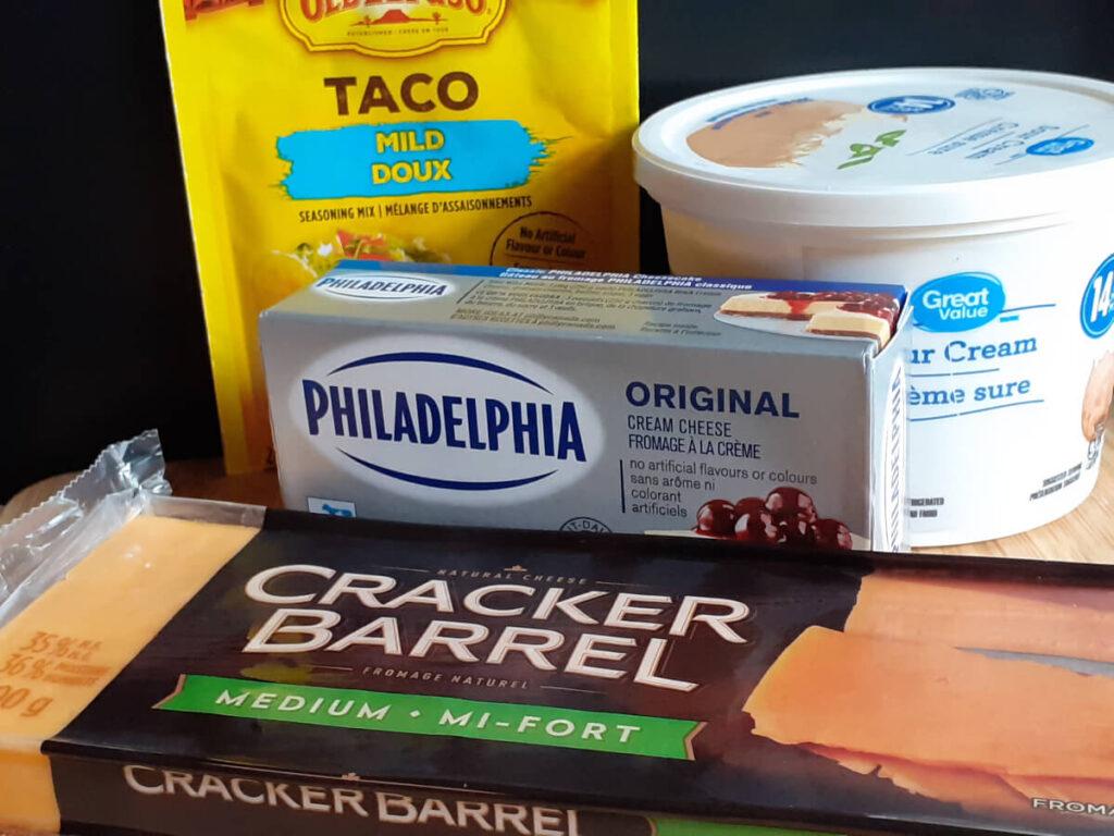 Taco Chip Dip Ingredients