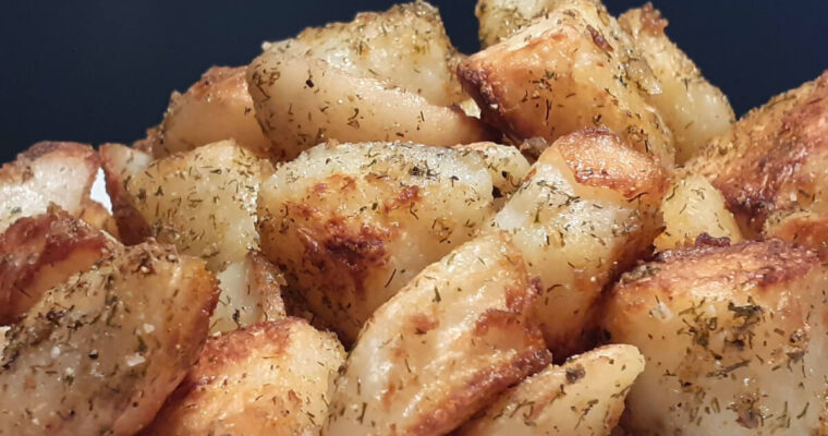 Dill Weed Broiled Potatoes