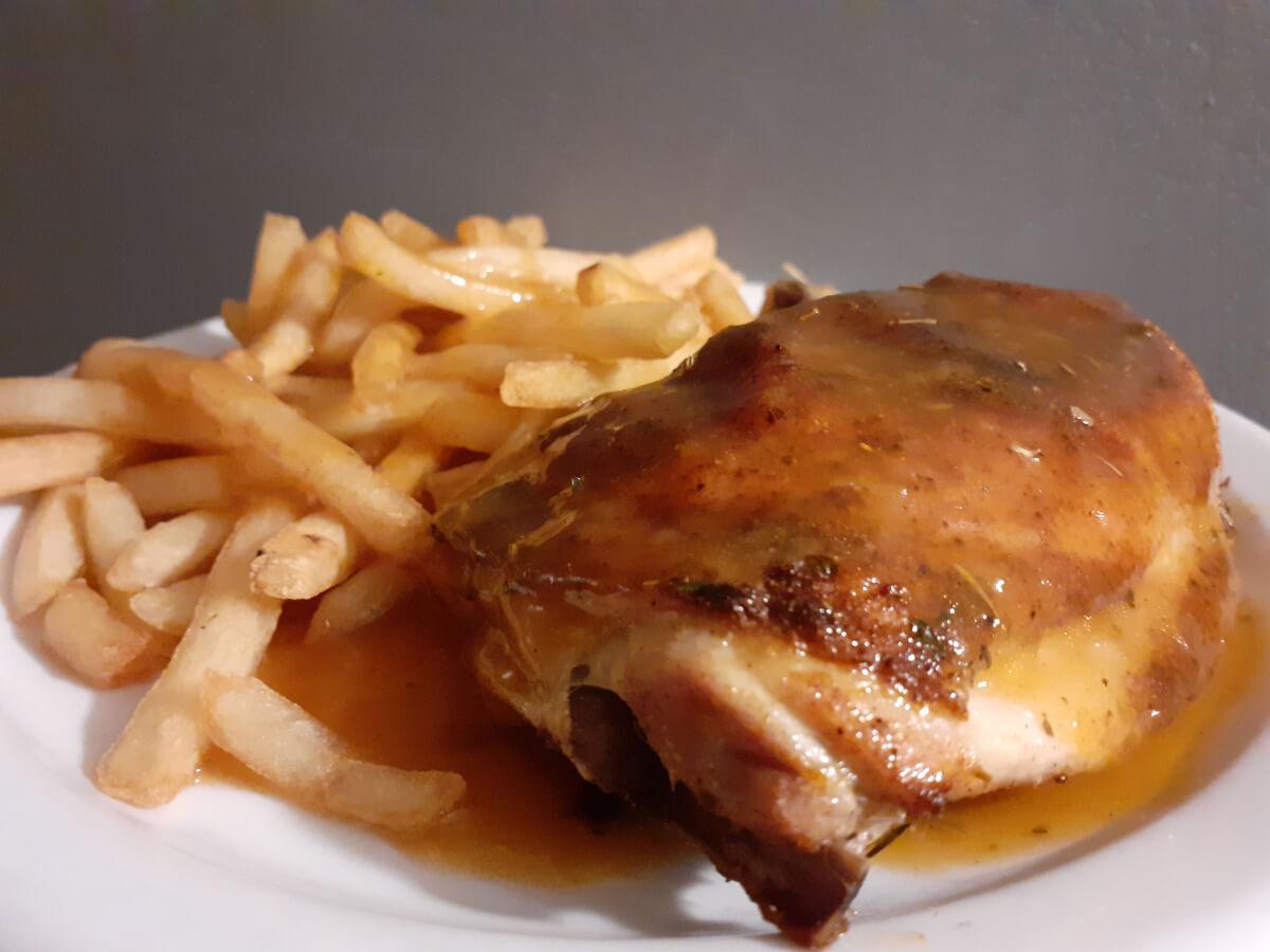 St Hubert Style Chicken and Gravy