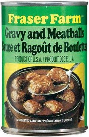 Fraser Farm Gravy & Meatballs