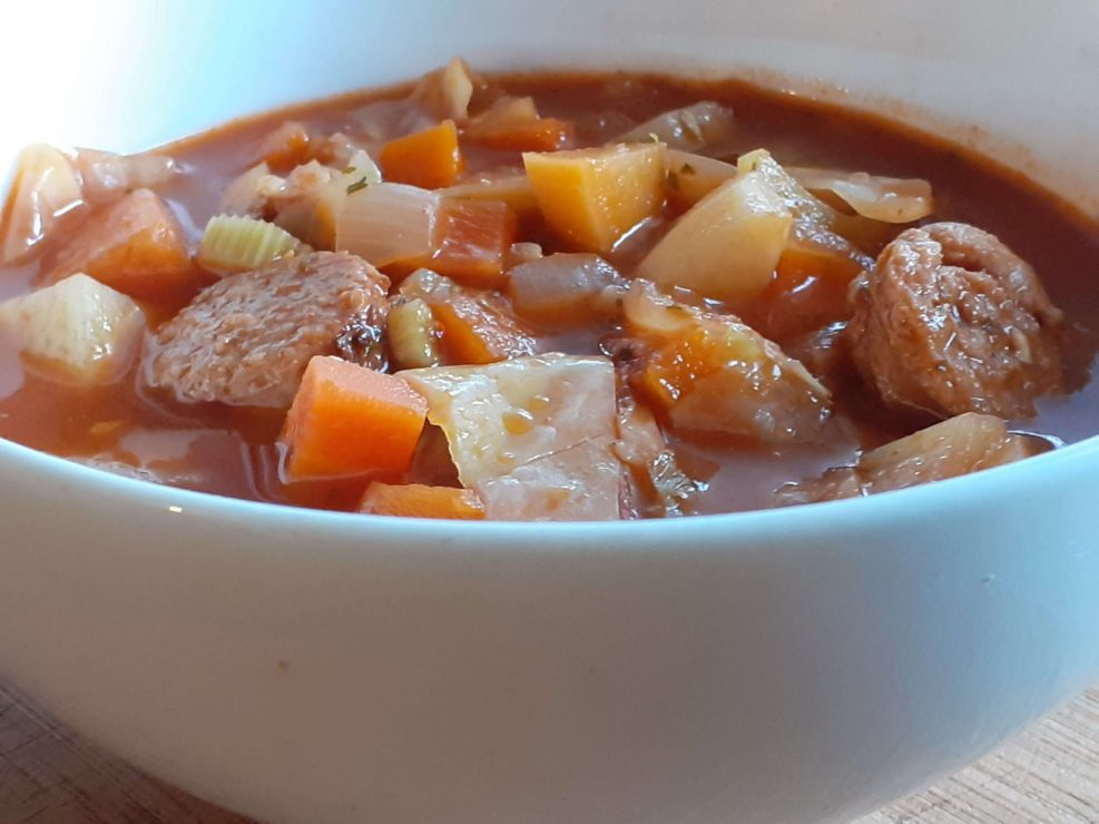 Meat & Vegetable Soup