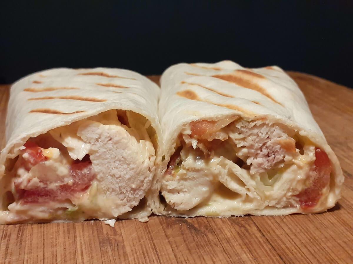 Chicken Bacon Ranch Burrito
