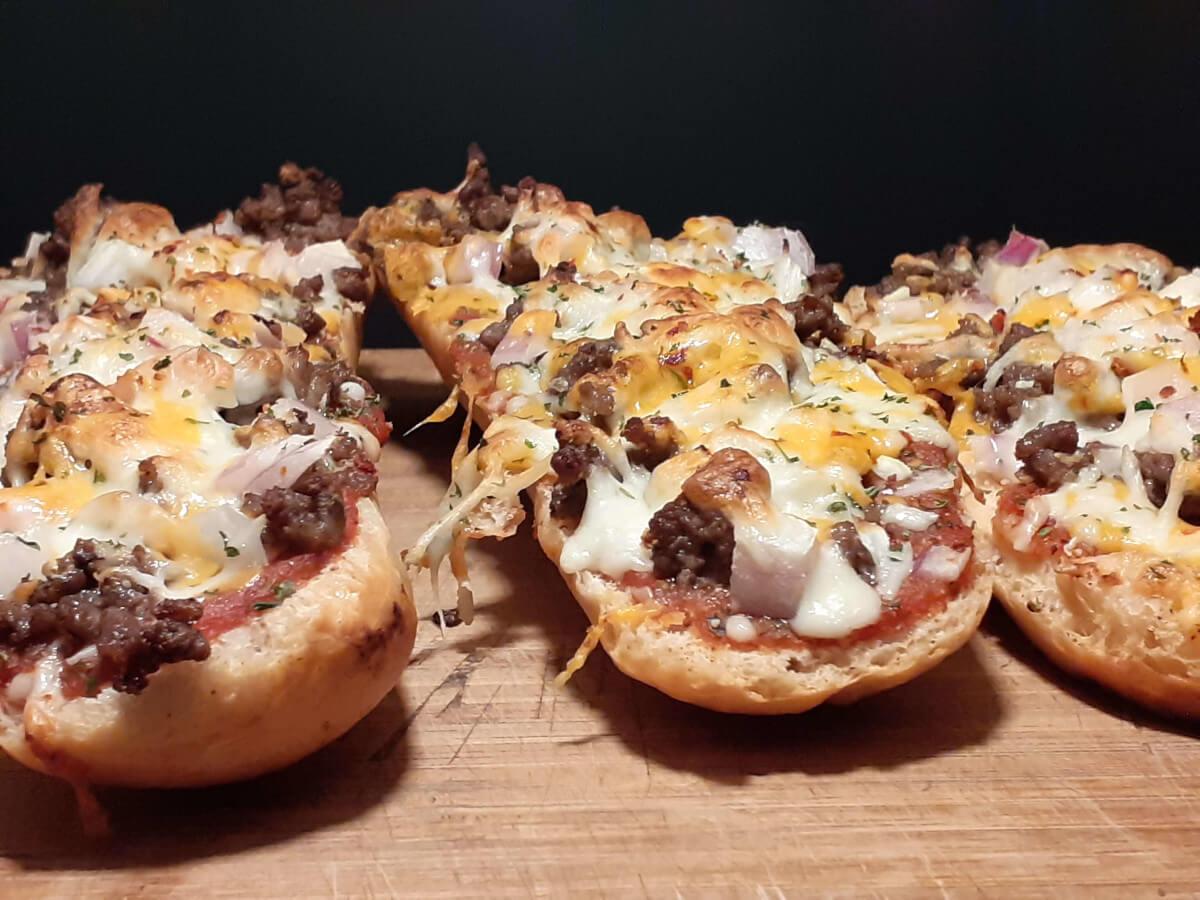 Cheeseburger Oven Sub