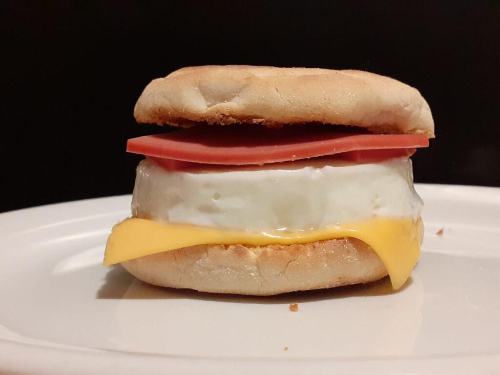 Egg & Bologna McMuffin