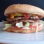 Double JAH Deluxe Burger