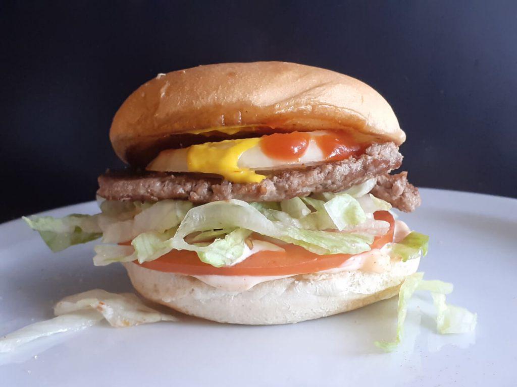 Single JAH Deluxe Burger