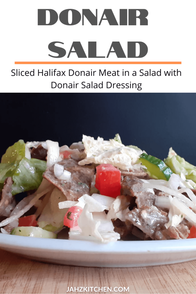 Donair Salad