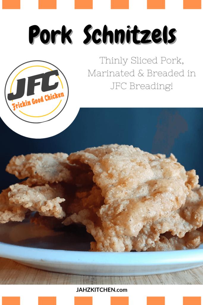 JFC Pork Schnitzels