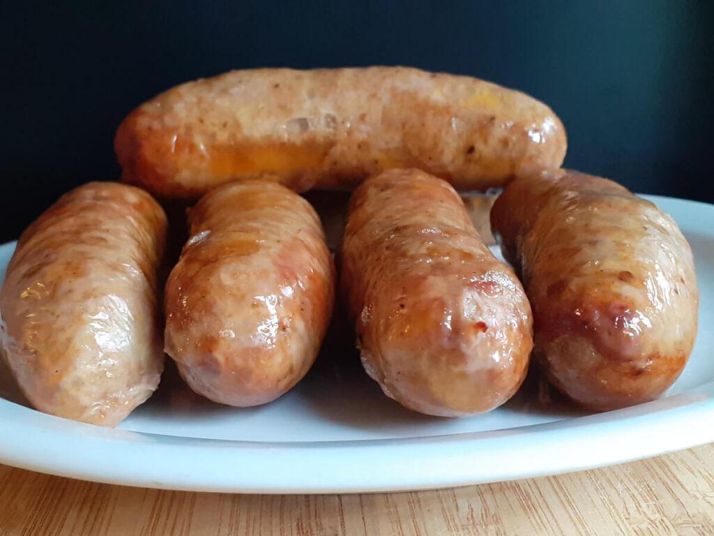 Air Fryer Italian Sausages