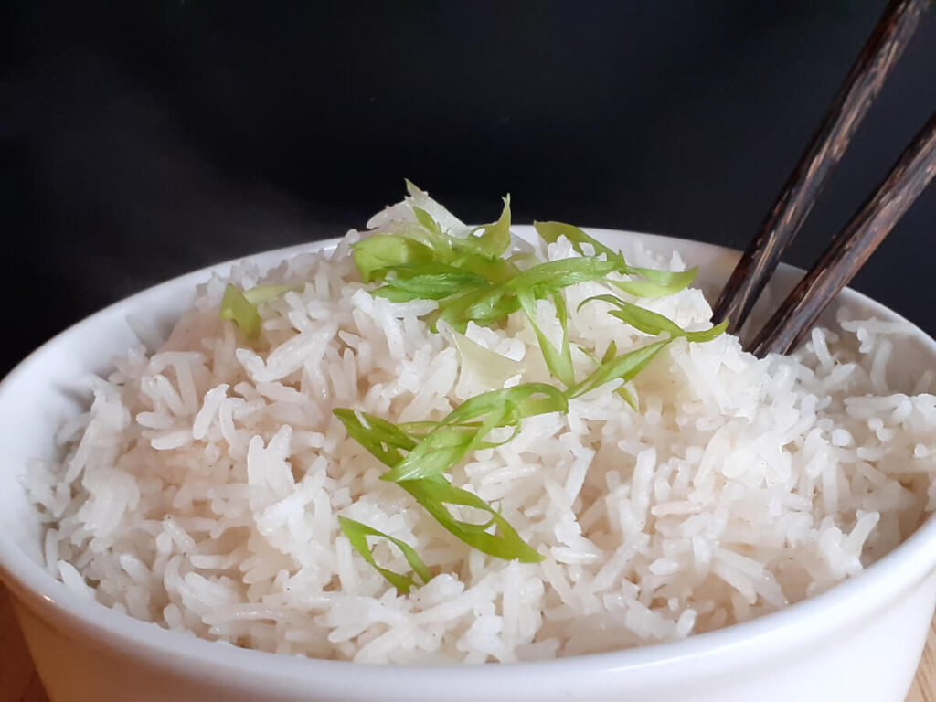 Chinese Steamed White Rice