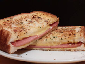 Grilled Cheese Bologna Sandwich