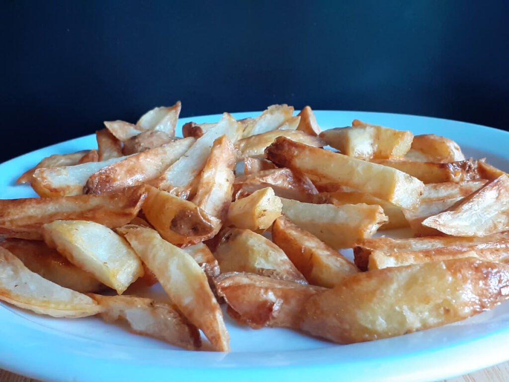 Homemade Air Fried French Fries