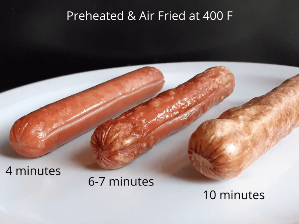 Air Fryer Cook Results