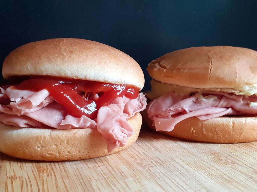 Arbys Bologna Sandwich