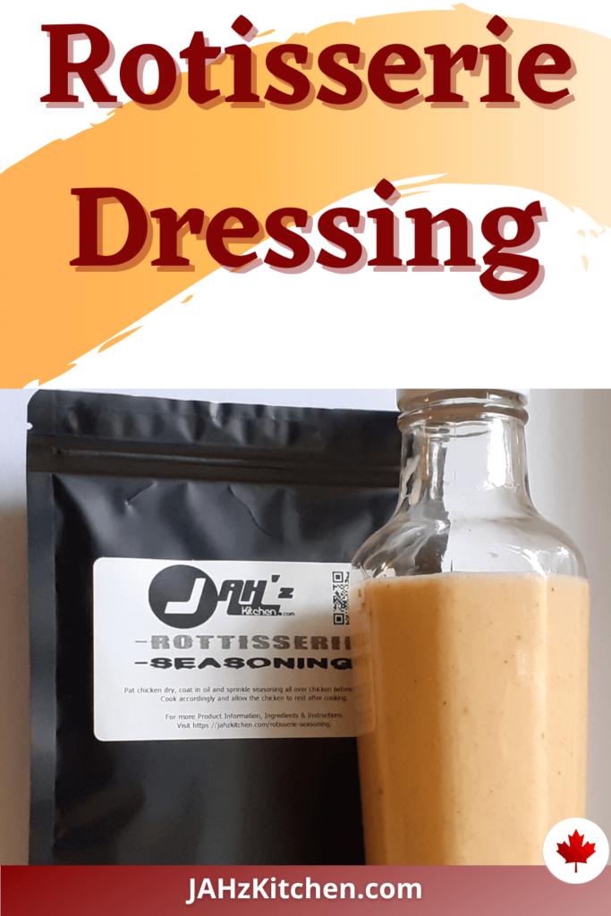 JAH Rotisserie Dressing