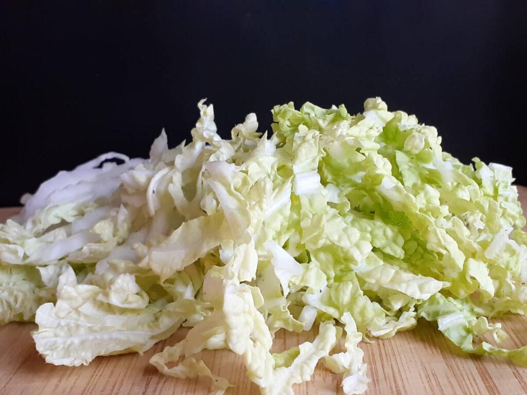 Nappa Cabbage Sliced Thin