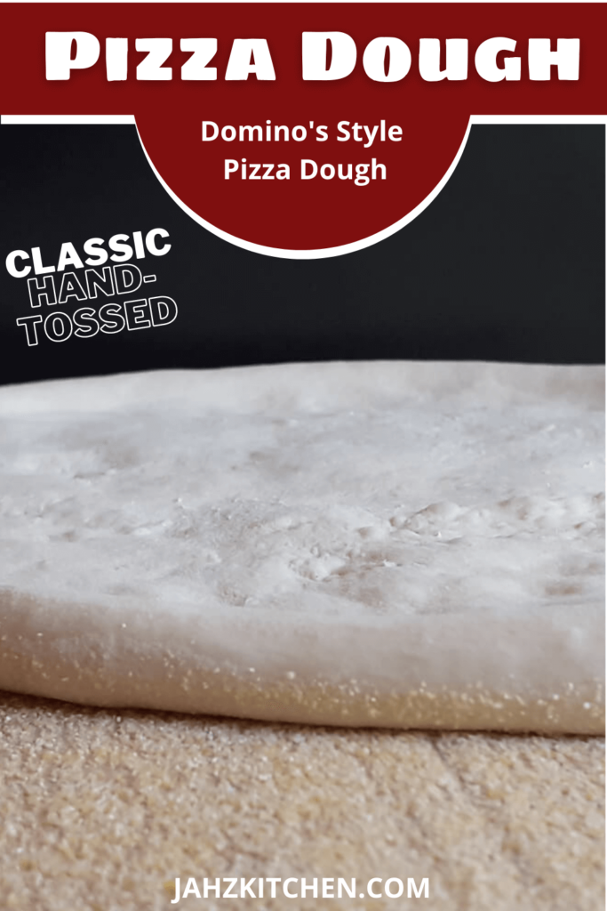 Classic Hand Tossed Pizza Dough