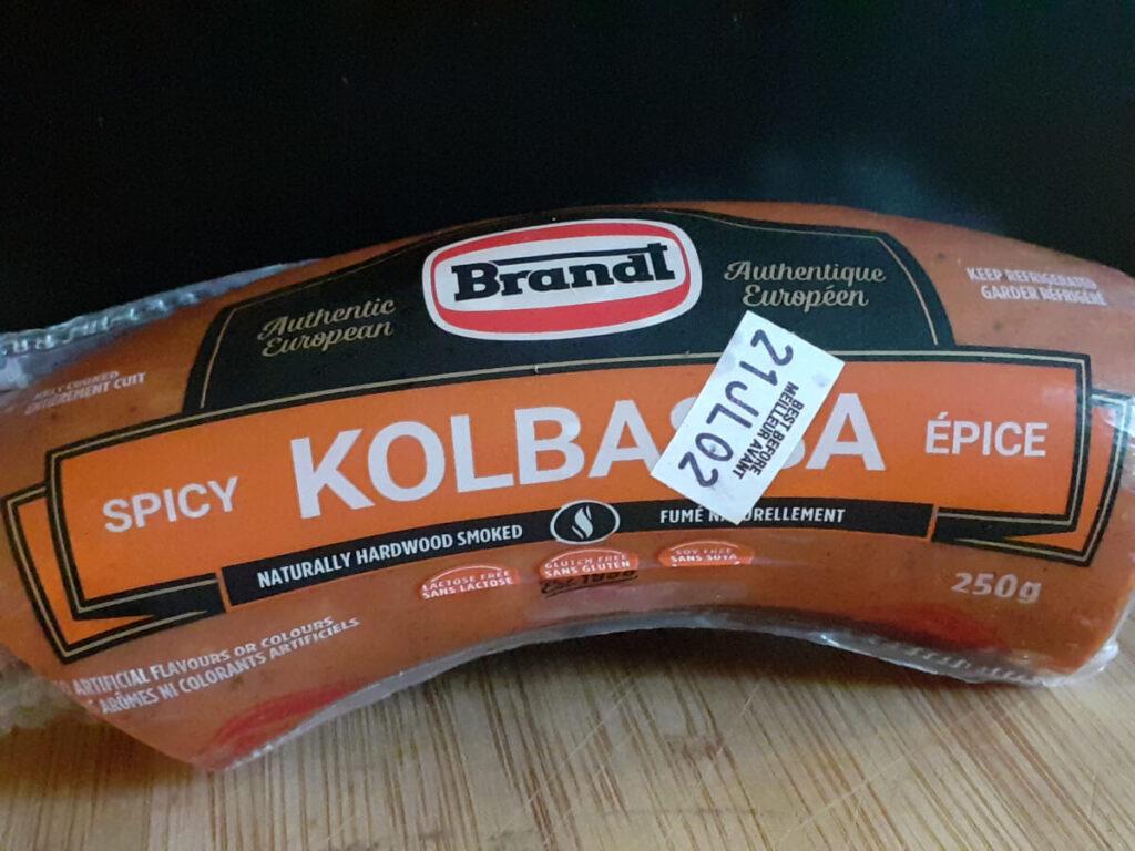 Spicy Kolbassa