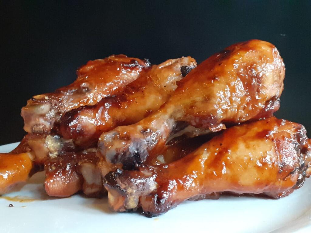 Hawaiian BBQ Chicken Legs