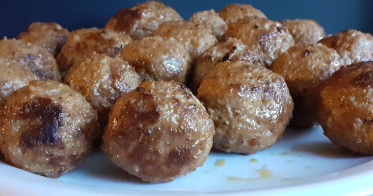 Donair Meatballs